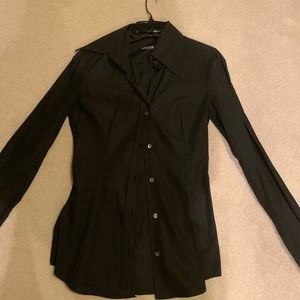 DOLCE AND GABBANA fitted button down shirt sz 40